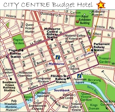 City Centre Budget Hotel Melbourne CBD Quality Clean Budget