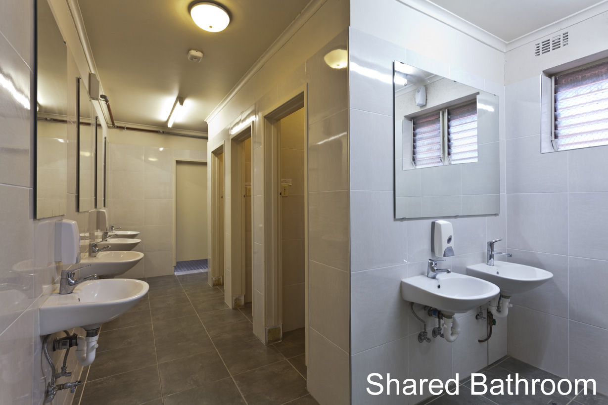 Ensuite Bathroom Facilities luxury furnished 1 bedroom apartment, sheraton hotel, melbourne's