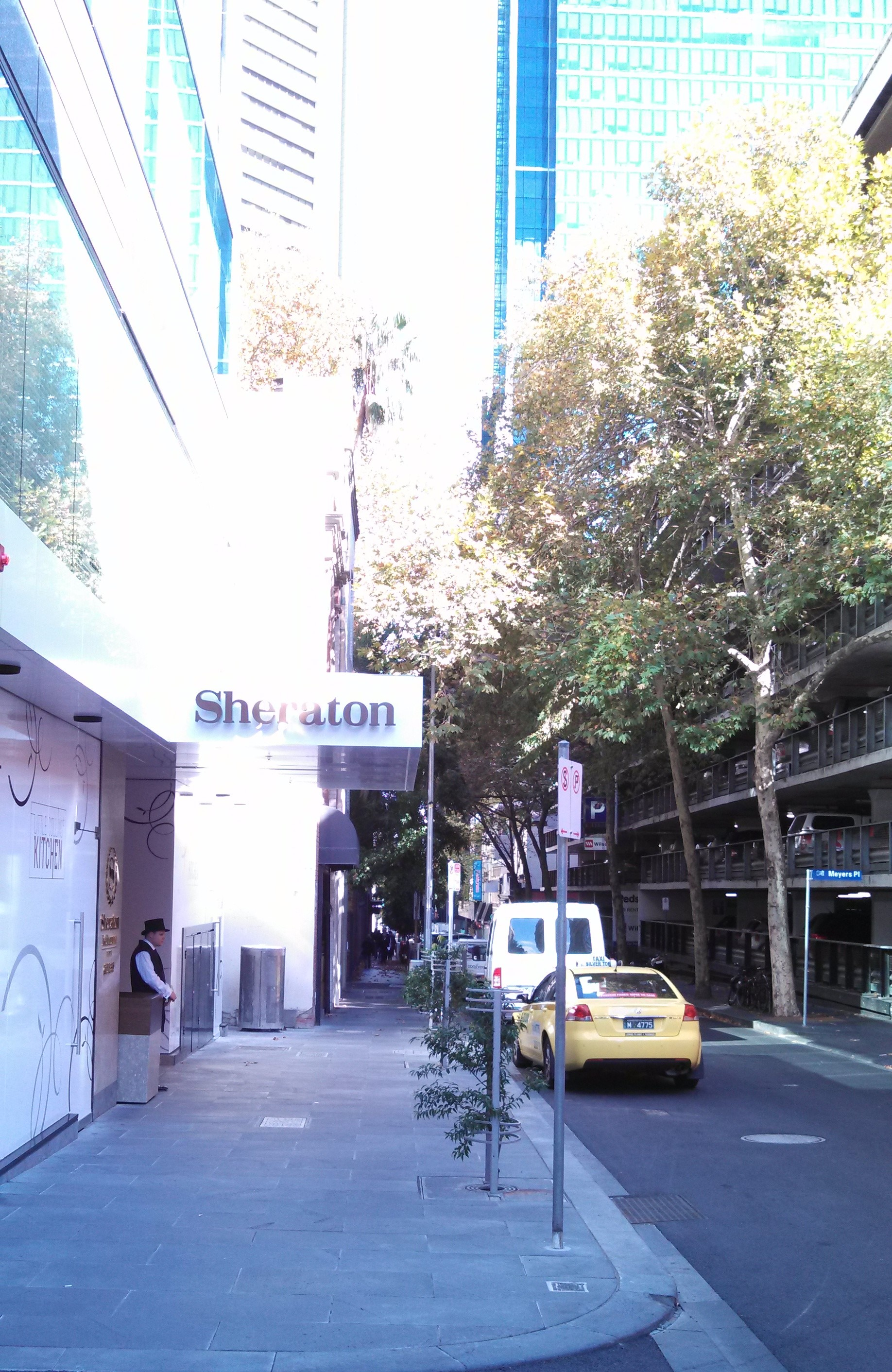 Sheraton Hotel in Melbourne - click to see an enlarged version of this image