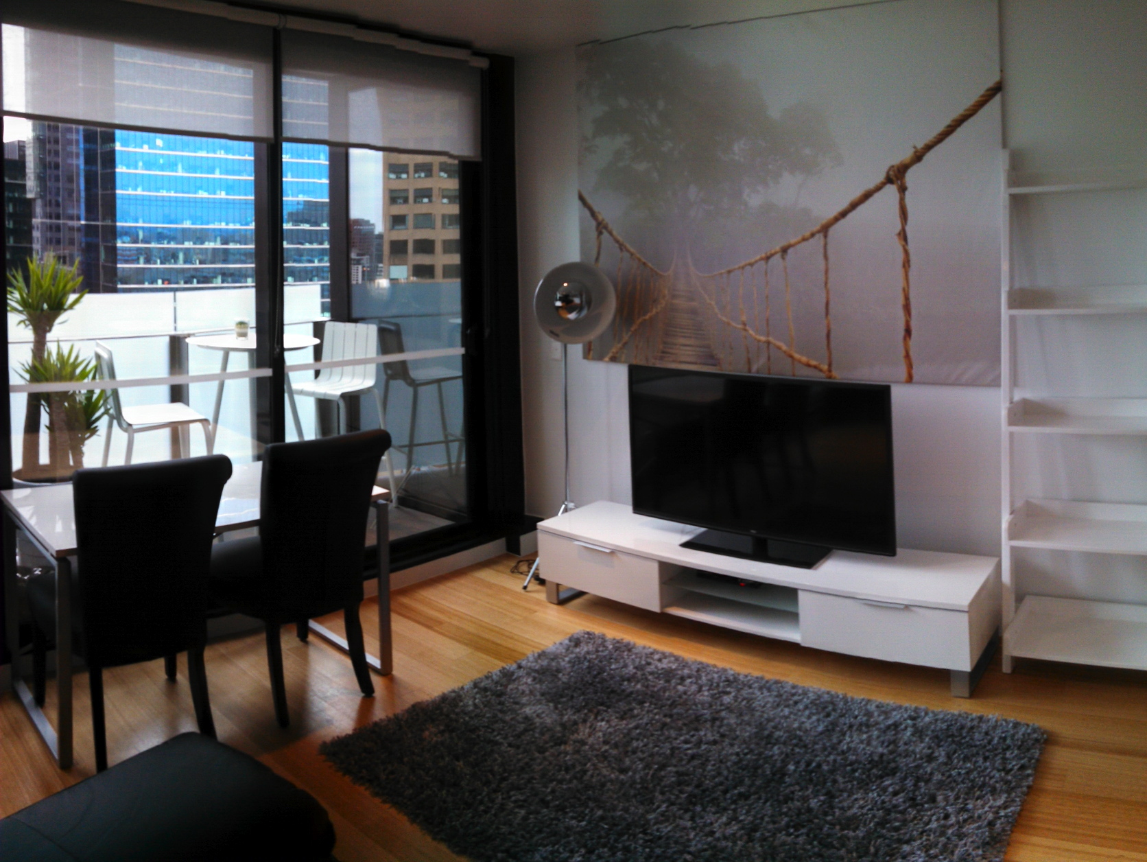 Luxury furnished 1 bedroom apartment sheraton hotel for Family room accommodation