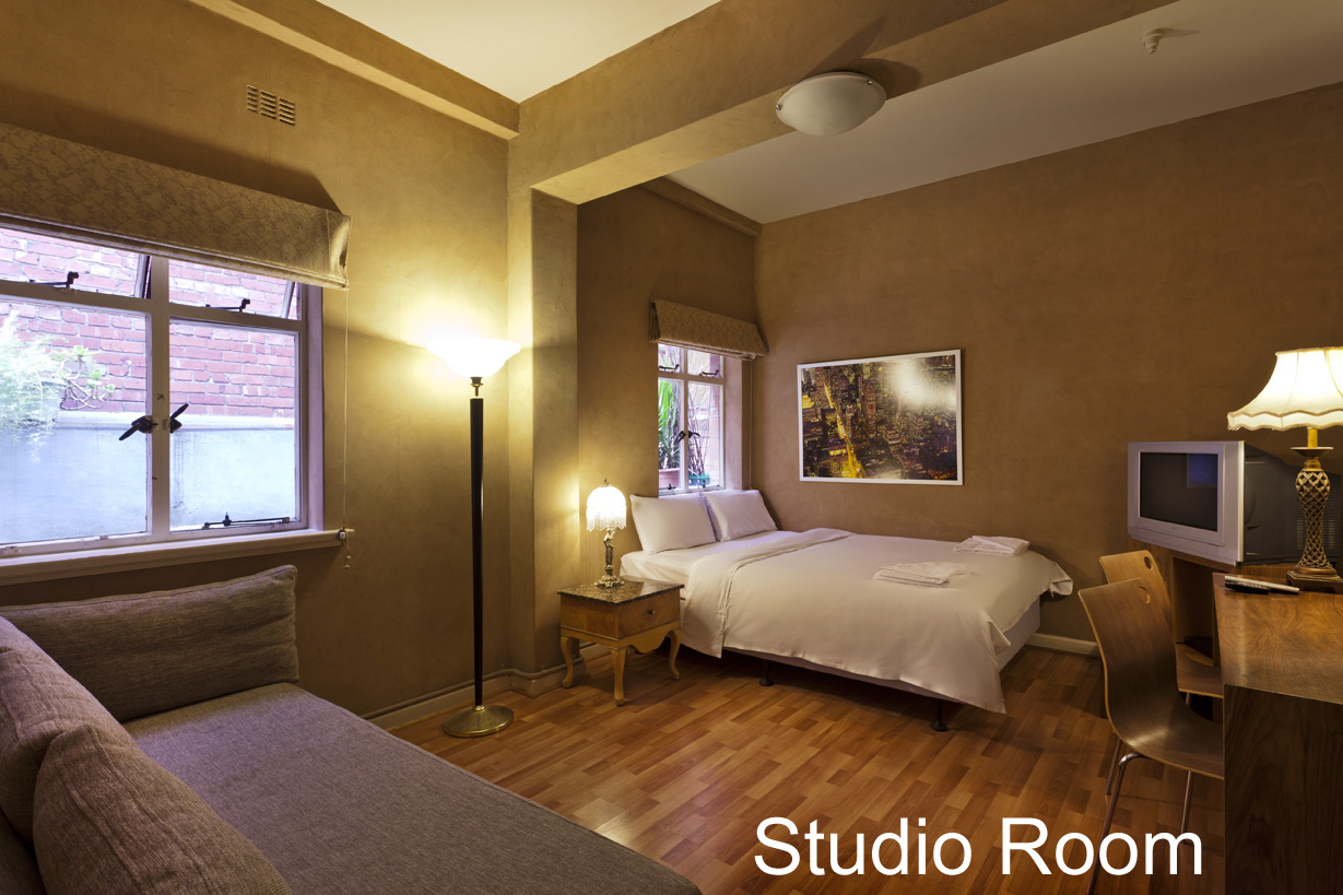 City Centre Budget Hotel, Studio Suite - for 2-4 people - click to see an enlarged version of this image