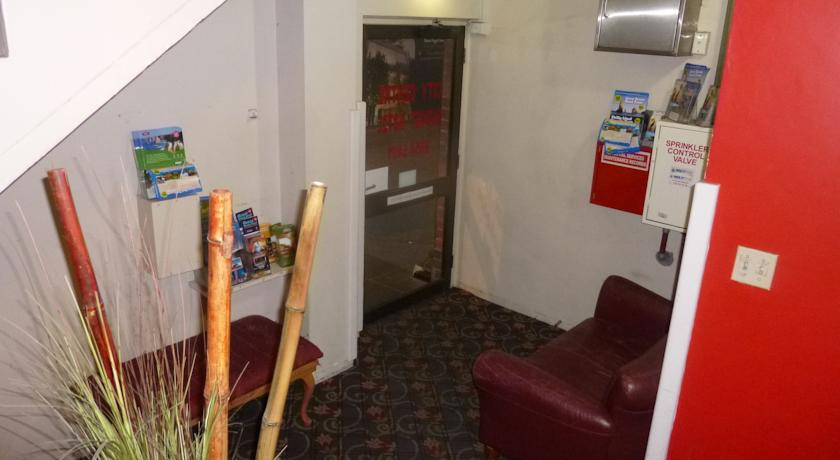 City Centre Budget Hotel, Entrance Foyer - click to see an enlarged version of this image