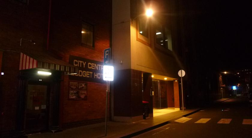 City Centre Budget Hotel, Front of the Building - click to see an enlarged version of this image