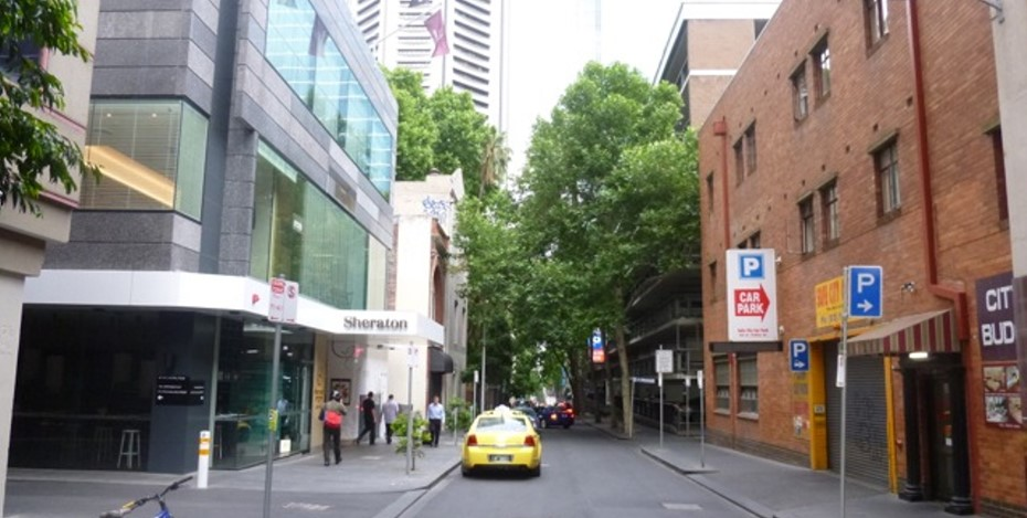 Little Collins Street view