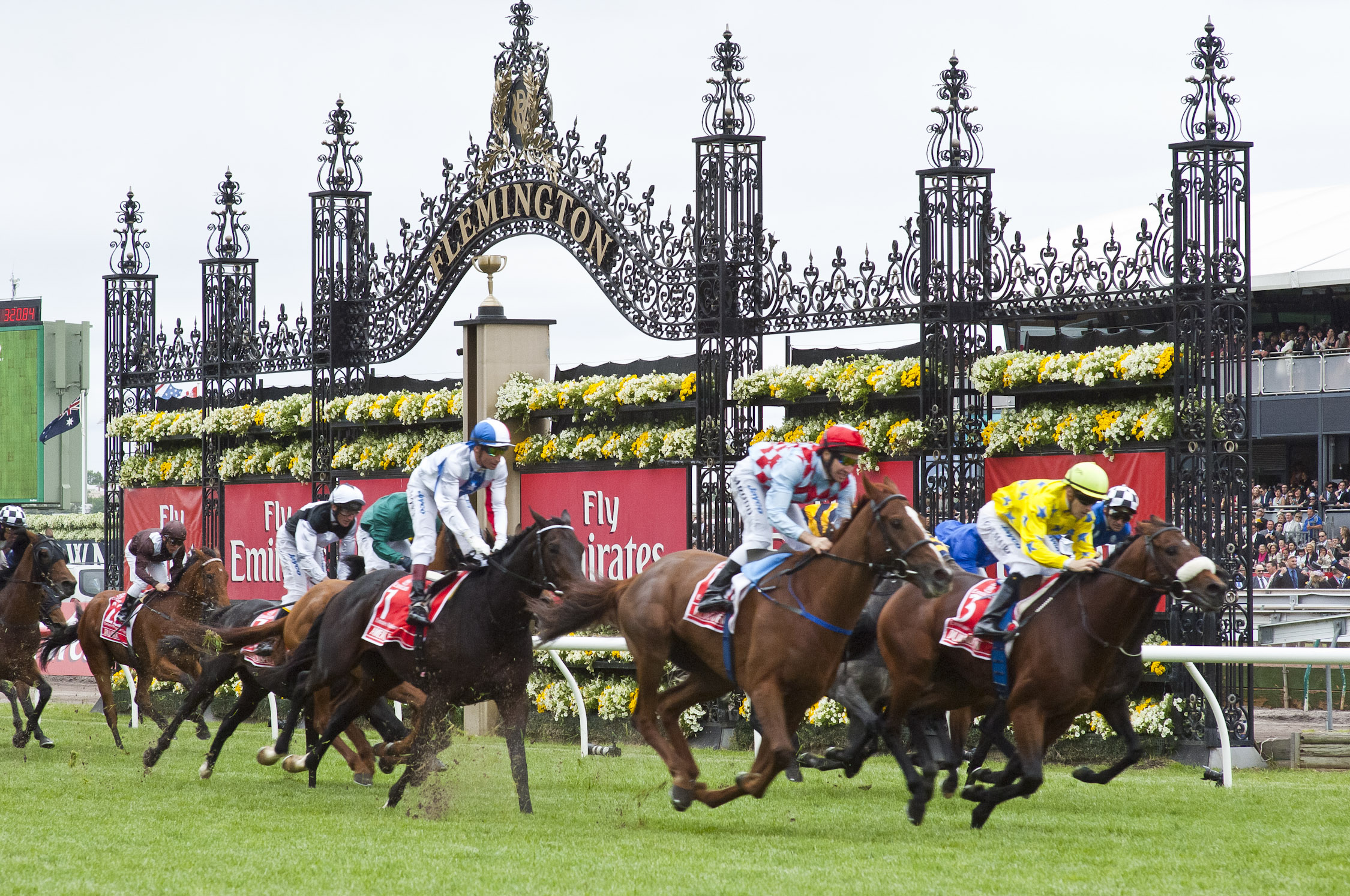 Melbourne Cup Spring Carnival Racing - click to see an enlarged version of this image