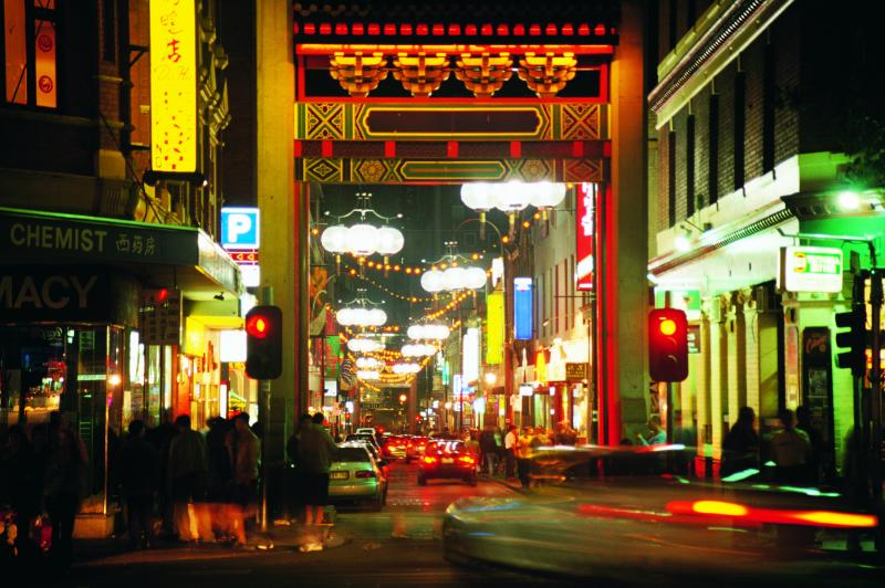 Melbourne China Town - click to see an enlarged version of this image